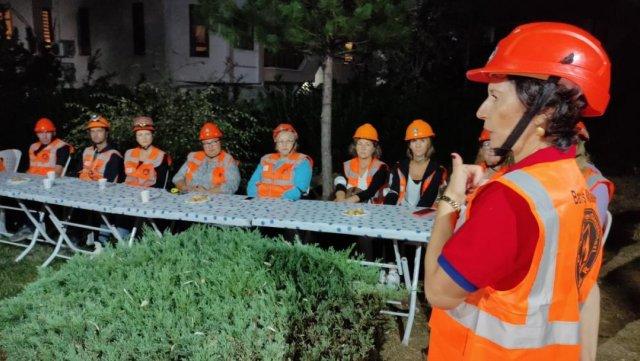 Bursa da her mahallede afet gönüllüleri yetiştiriliyor #1