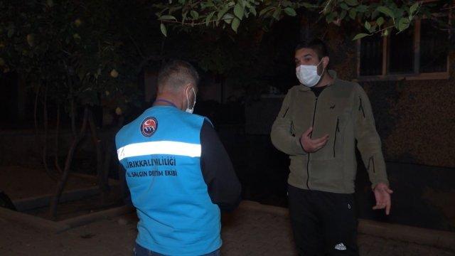 Kırıkkale de pozitifli genç çöp atmaya çıkınca 4 bin 50 lira ceza yedi #2