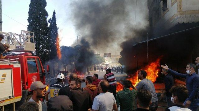 Cerablus ta eş zamanlı bombalı saldırı: 1 ölü 15 yaralı #9