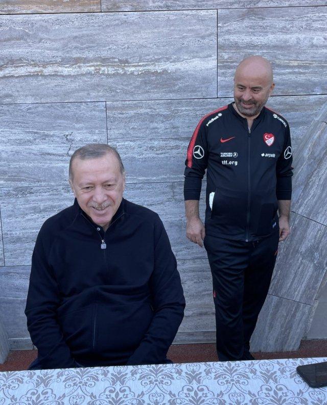 Cumhurbaşkanı Erdoğan sabah sporunda #3