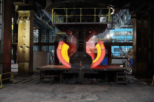 Akkuyu NGS nin reaktör tabanının ham parçası yapıldı #1
