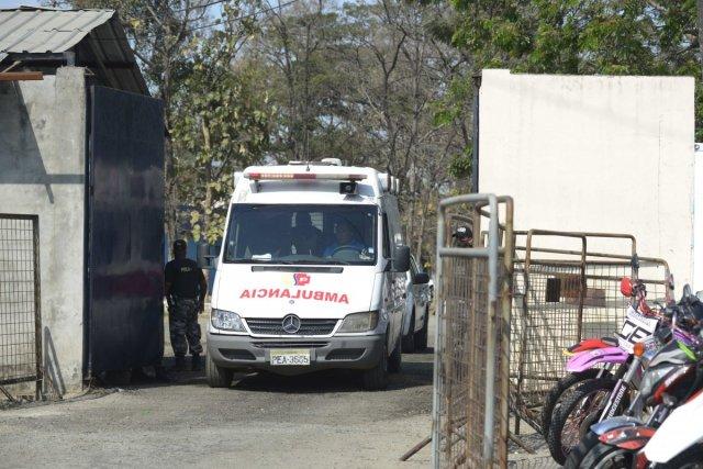 Ekvador da cezaevinde çatışma #2
