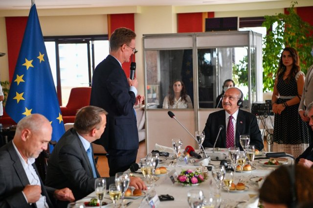 Kemal Kılıçdaroğlu, büyükelçilerle yemekte buluştu  #3