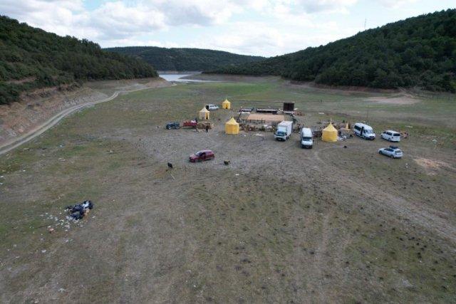 İstanbul da barajlar adeta çöle döndü #2