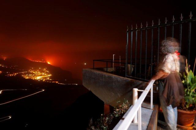 La Palma da lavlar Atlas Okyanusu na ulaştı #5