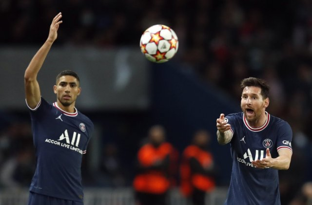 Lionel Messi, PSG deki ilk golünü attı #4