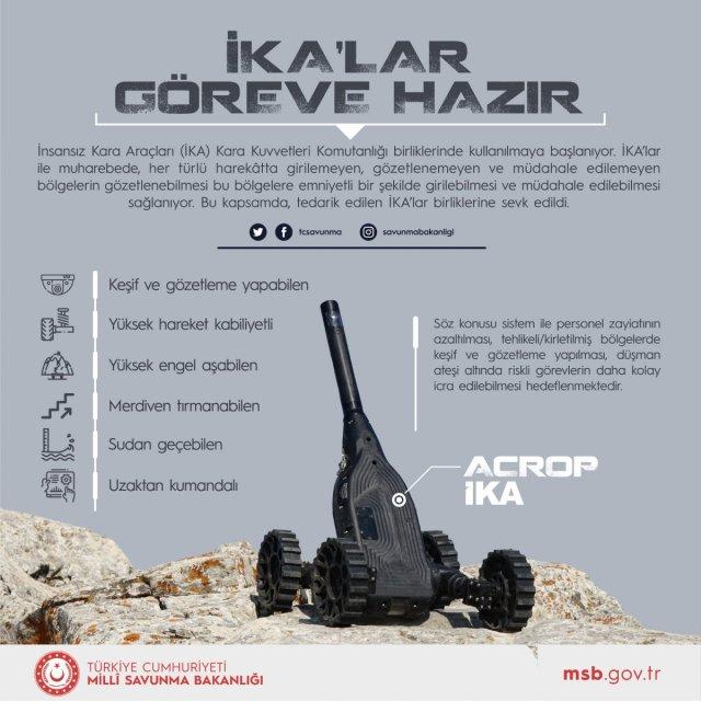 İnsansız kara araçları TSK da kullanılmaya başlandı #1