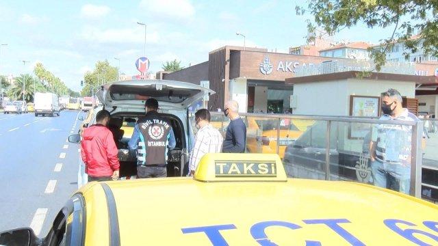 İstanbul da taksi denetimi: 4 araç trafikten men edildi #3