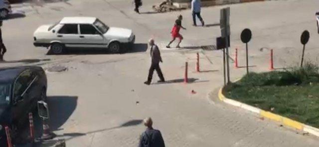 Zonguldak ta tartıştığı kadının üzerine otomobilini sürdü #2