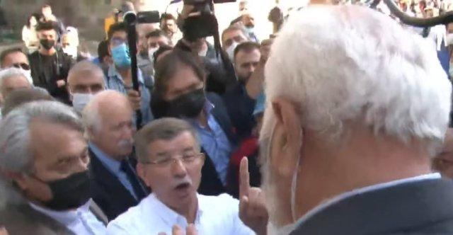 Ahmet Davutoğlu na Kayseri de  ihanet  tepkisi #2
