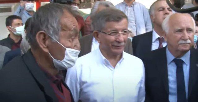 Ahmet Davutoğlu na Kayseri de  ihanet  tepkisi #3
