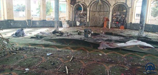 Dışişleri Bakanlığı, Afganistan'da camide meydana gelen bombalı saldırıyı kınadı #1