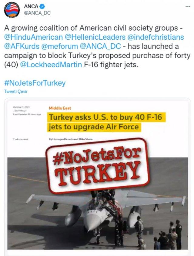 Türkiye nin ABD den istediği F-16 lara karşı Ermenistan harekete geçti #2