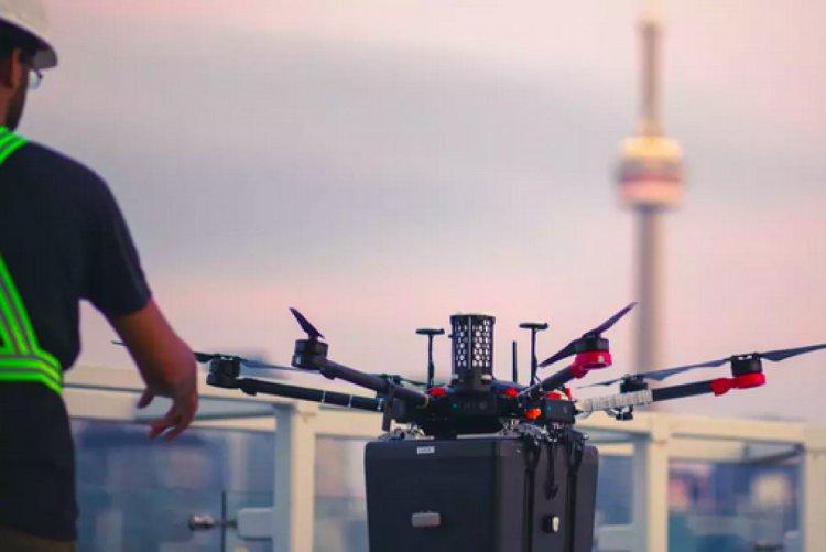 Kanada da hastaya nakledilecek akciğer ilk kez drone ile taşındı #2