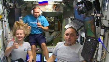 Rus film elibi, uzayda 30 saatlik görüntü çekti #1