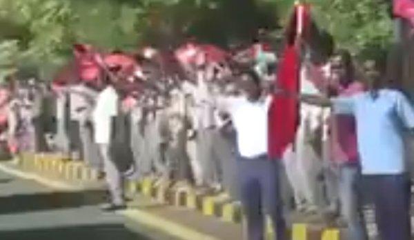 Sudan'da Recep Tayyip Erdoğan coşkusu