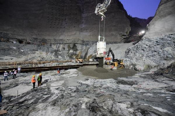 Yusufeli Barajı'nda sona geliniyor