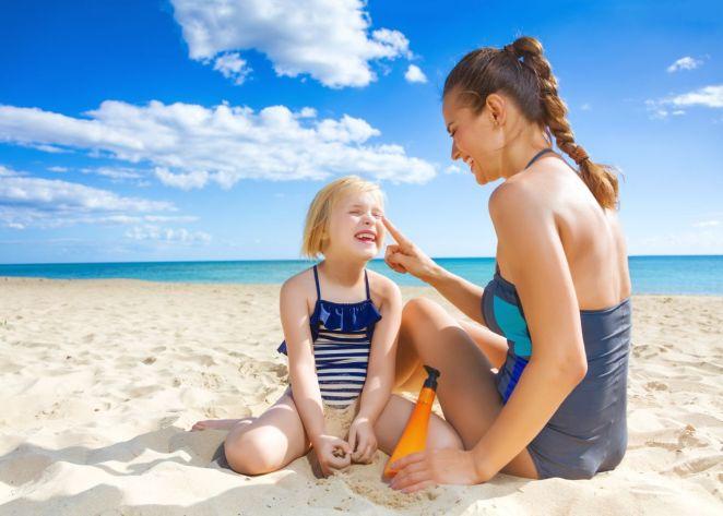 Childhood sun exposure causes skin cancer #2