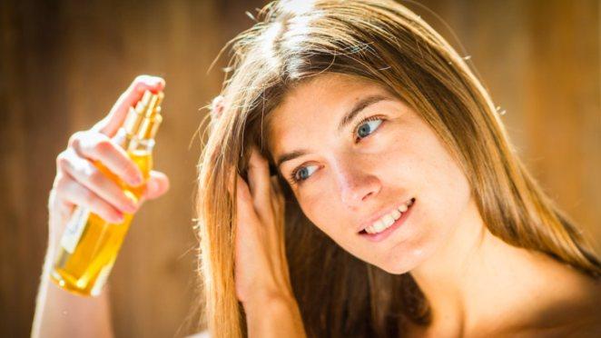 Natural remedy for skin blemishes: Apple cider vinegar #2
