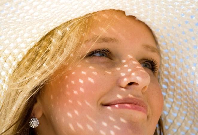 Sun rays invite skin spots #1