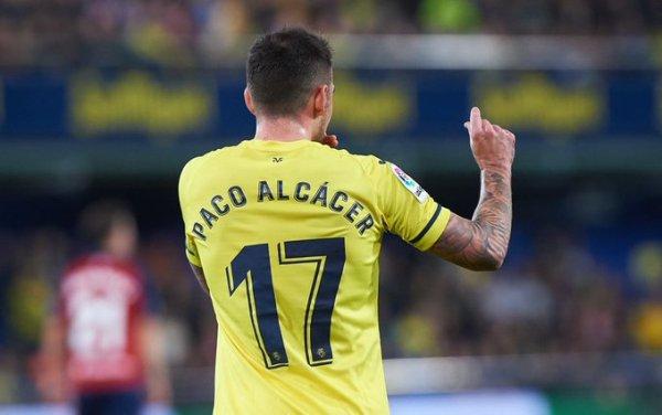 Paco Alcacer ROCKETS Villarreal in front against Atletico Madrid - Football Espana