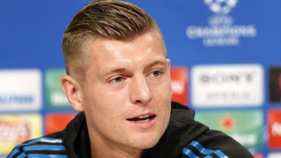"""Toni Kroos: """"I've almost never been injured and I don't know what injured players do"""""""