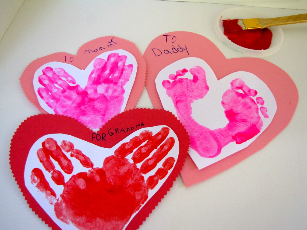 7 Easy Valentine S Day Crafts For Toddlers