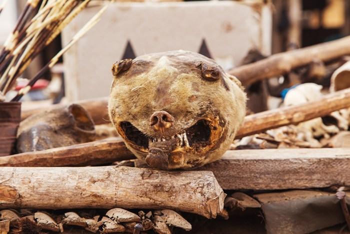 Жуткий рынок Акодессева: «Вуду даст тебе здоровье, но убьет твоего брата»