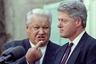 Орис Ельцин и Билл Клинтон