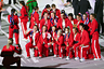 ROC team at the opening ceremony of the Olympic Games