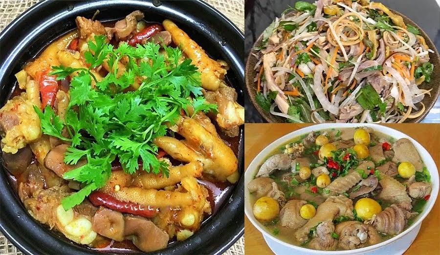 Tổng hợp 22 công thức nấu các món gà ngon hấp dẫn và dễ làm
