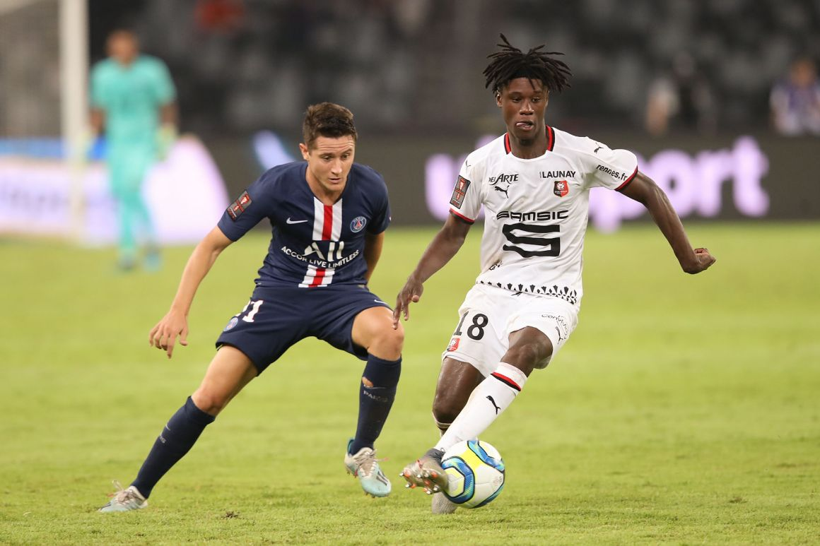 Ligue 1 Transfer Target: Stade Rennais Midfielder Eduardo Camavinga - PSG  Talk