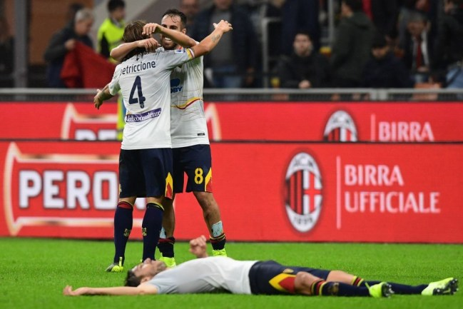 Image result for photos of milan vs lecce