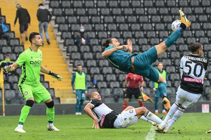 Udinese 1-2 AC Milan: Late bicycle kick from Ibrahimovic seals crucial win  for the Rossoneri