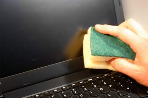 Clean Your Laptop Screen