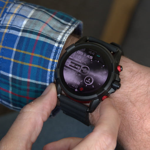 Diesel On Full Guard 2 5 Review Love The Smartwatch S Look Hate The Battery Digital Trends