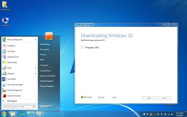 Cómo obtener Windows 10 para descarga gratuita