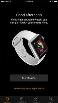 how to back up apple watch restore from 1