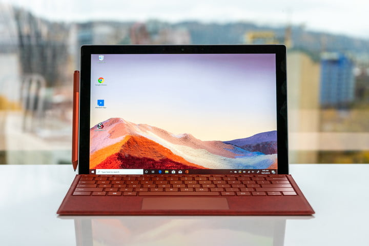 Microsoft Surface Pro 7正面