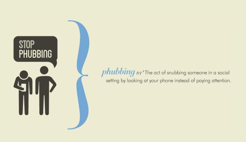 Stop Phubbing' campaign launches in bid to end antisocial handset use |  Digital Trends