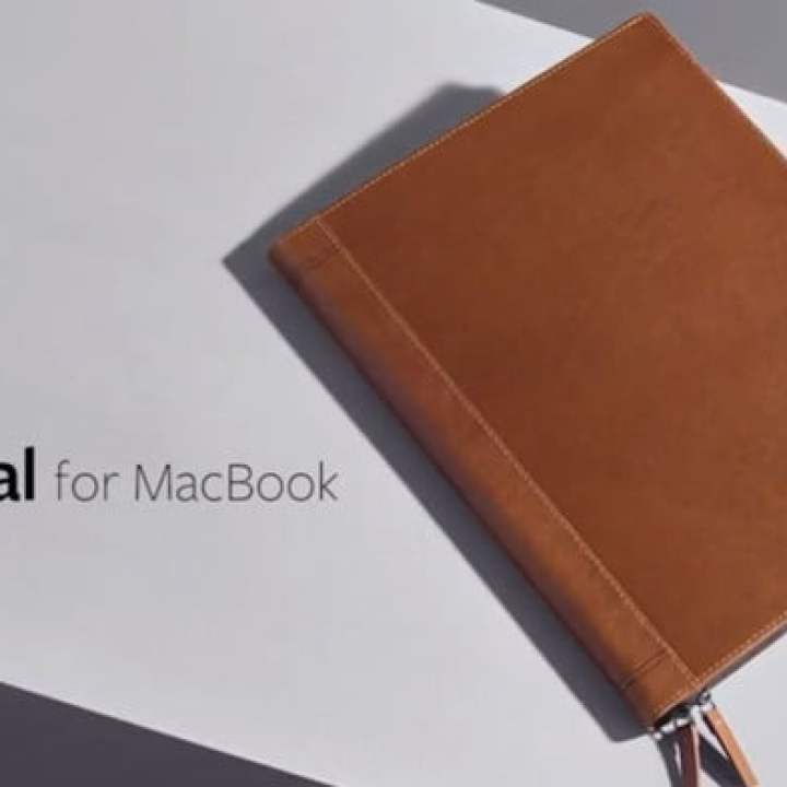 dai un'occhiata a questa fantastica custodia in pelle per macbook journal macbook
