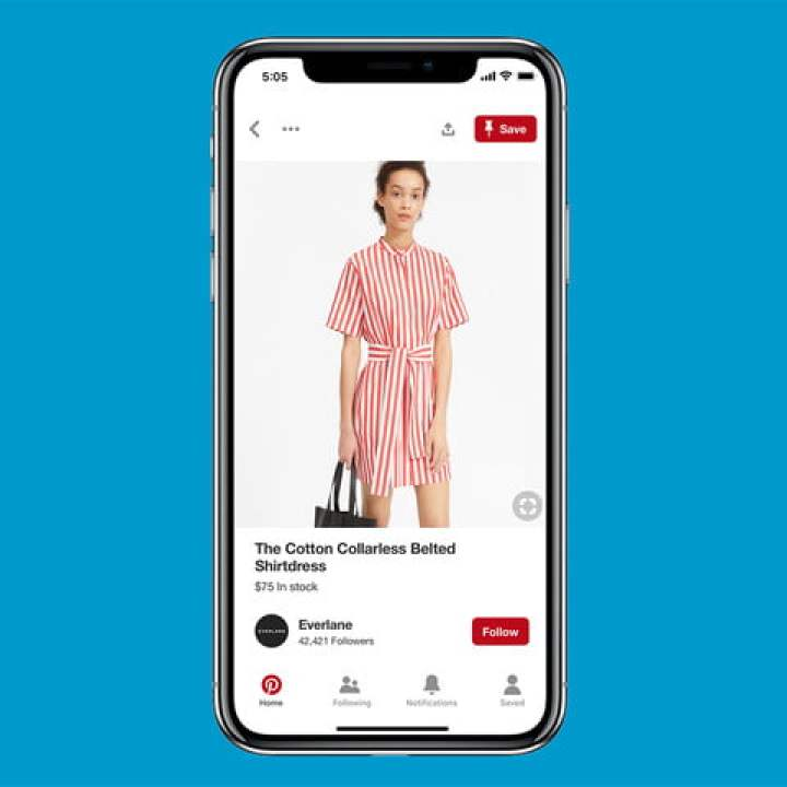 pinterest shopping pin di revisione dei prodotti nuova copia
