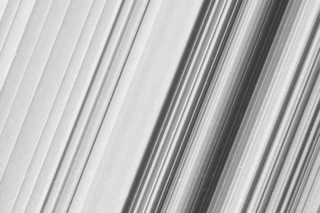 cassini closest views of saturns rings pia