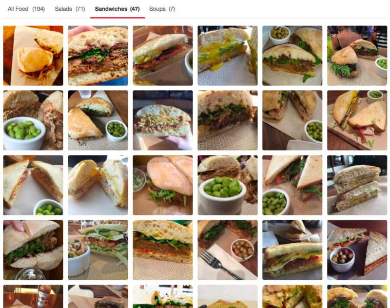 Yelp photo classification sandwiches soma copy