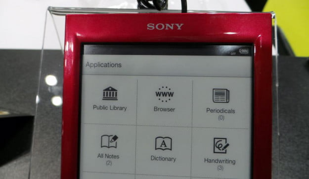 Sony Reader Library App