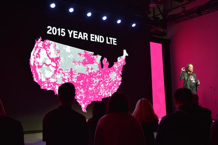 T Mobile Will Update its Coverage Map Twice a Month   Digital Trends T Mobile Event 3 18 2015