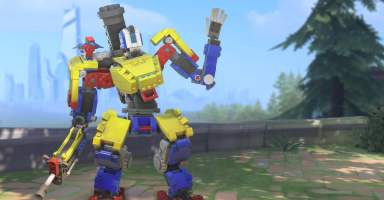 Overwatch's Latest Event Gives Bastion a Lego-themed Skin | Digital Trends
