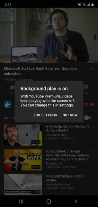 how to play youtube in the background screenshot 20200526 144215
