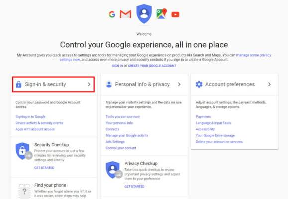 how to change your gmail account password googleaccount02
