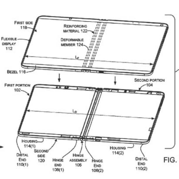 microsoft patent liquid filled hinges foldable device hinge for devices 1
